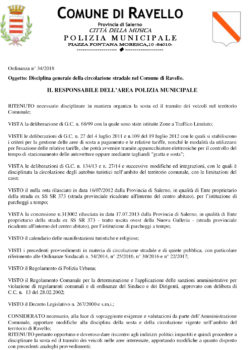 Ordinanza n° 34/2018