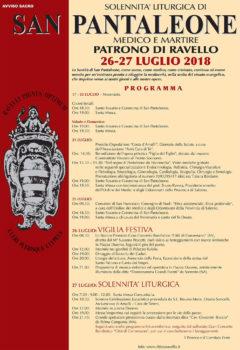 Solennità liturgica di San Pantaleone