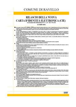Nuova Carta d'Identità Elettronica (CIE)