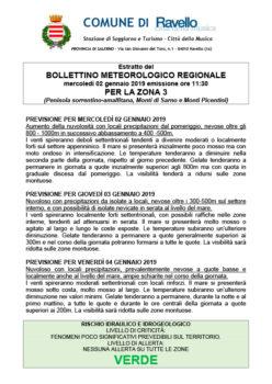 Bollettino Meterologico Regionale