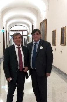 Conferimento Villa Rufolo, Palazzo Episcopio e Auditorium Oscar Niemeyer a Fondazione Ravello, il sindaco Di Martino incontra il Ministro Bonisoli