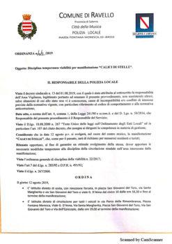 Ordinanza n°52/2019