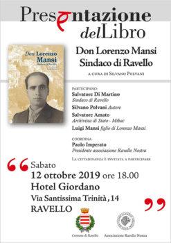 Presentazione del libro Don Lorenzo Mansi