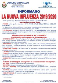 La nuova influenza 2019/2020