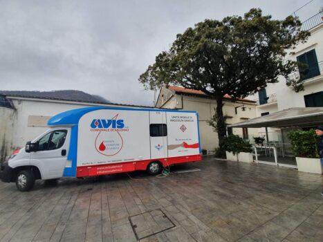 Ravello – Il 13 giugno «giornata del dono del sangue» in piazza Fontana Moresca
