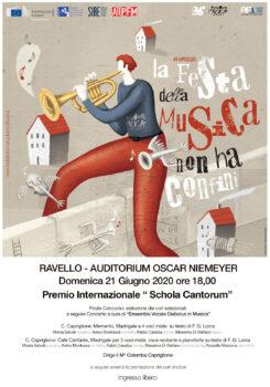 Ravello Festa della Musica – 21 giugno 2020