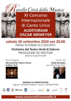 XI Concorso Internazionale di Canto Lirico