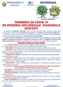 Linee guida Pandemia da COVID-19 ed Epidemia InfluenzaleStagionale 2020/2021
