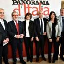 09/03/16, Milano, Conferenza stampa Panorama d'Italia